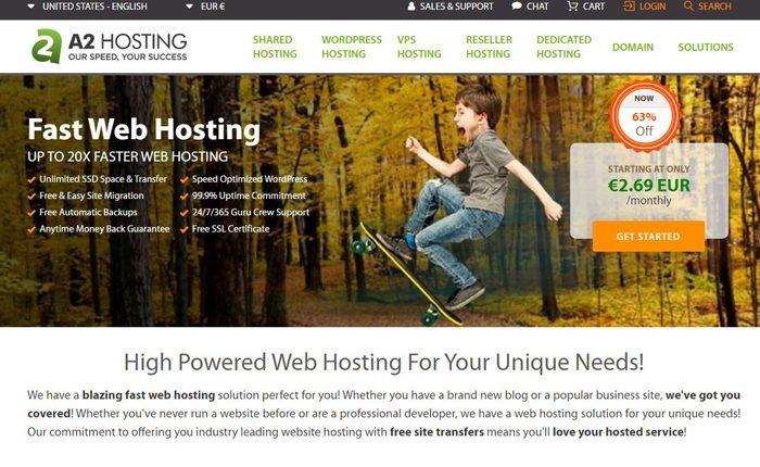 A2 Hosting Web Hosting Services Reviews