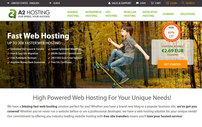 A2 Hosting Web Hosting Services Reviews