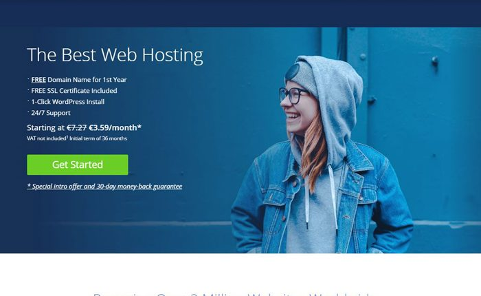 Bluehost Web Hosting Services Reviews