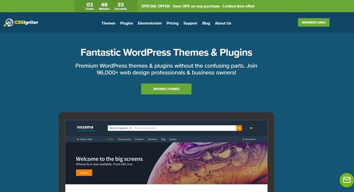 CSSIgniter Themes Wordpress Premium Reviews