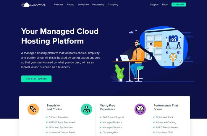 Cloudways Web Hosting Services Reviews