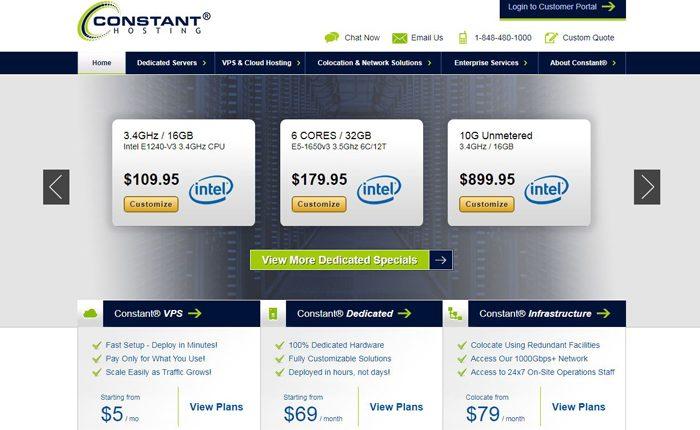 Constant Hosting Web Hosting Services Reviews