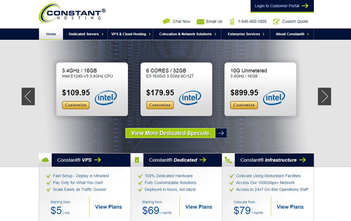 Constant Hosting Web Hosting Services Reviews