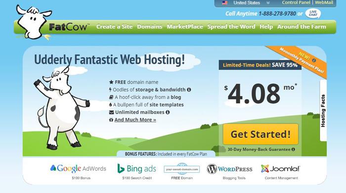FatCow Web Hosting Services Reviews
