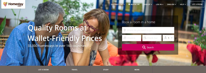 Homestay Affiliate Program-Booking-Travel-Hotel