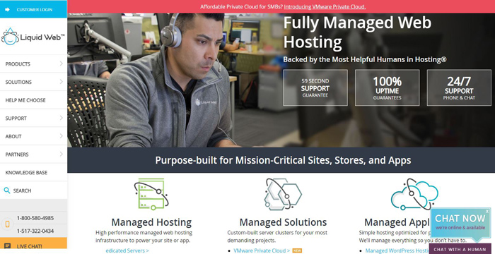 Liquid Web Hosting Services Reviews