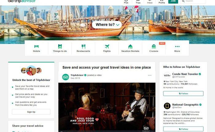 TripAdvisor Affiliate Program-Booking-Travel