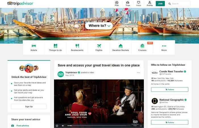 TripAdvisor Affiliate Program-Booking-Travel