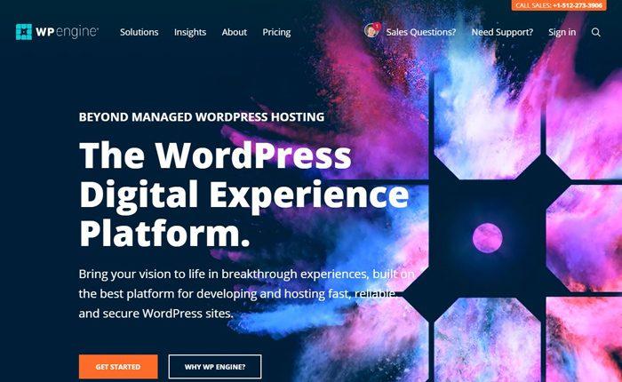 WP Engine Web Hosting Services Reviews